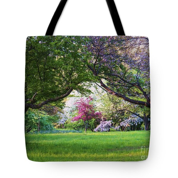 There Is No Place Like Spring Tote Bag
