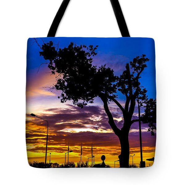 There Is Something Magical About The Sky Tote Bag