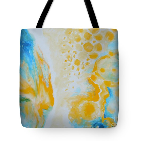 There - Looking At Me Tote Bag