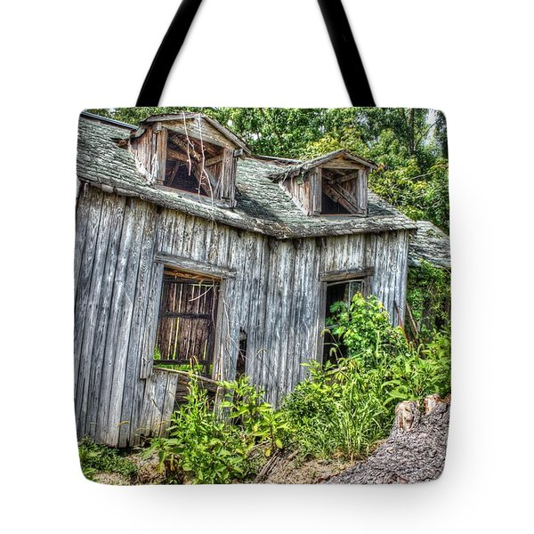There Was A Crooked Man Tote Bag by Dan Stone