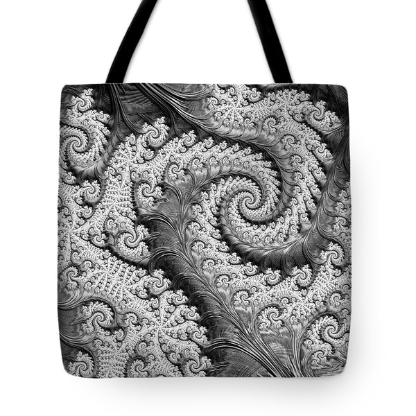 There's A Chill In The Air  Tote Bag by Heidi Smith