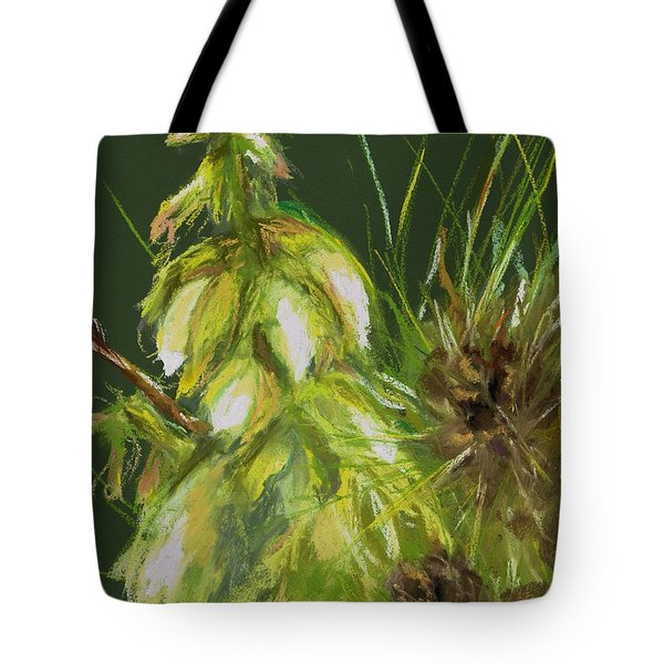Theres A Yucca In My Yard Tote Bag by Frances Marino