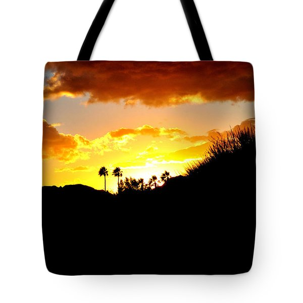 There's Gold In Them Thar Hills Tote Bag by Jay Milo