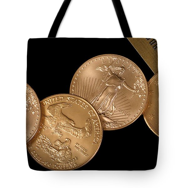 There's Gold Then There's Gold Tote Bag by David and Carol Kelly