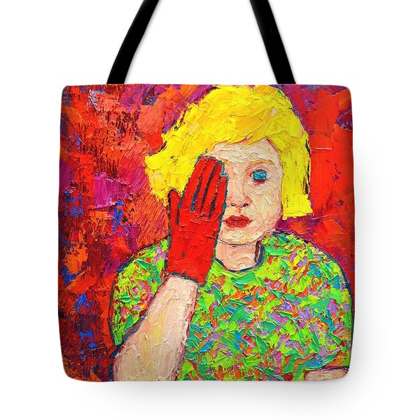 There's No Comfort In The Truth Tote Bag by Ana Maria Edulescu