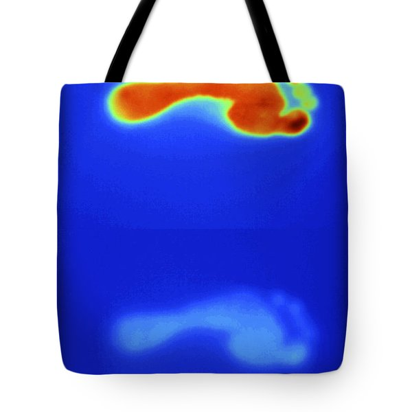 Thermal Shadow Fading Tote Bag