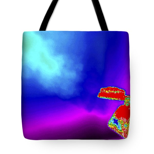 Thermogram Of A Boiling Kettle Tote Bag