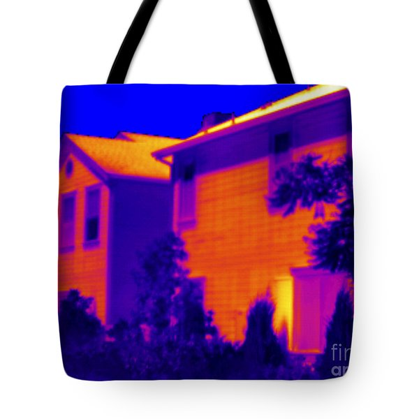 Thermogram Of A House Tote Bag
