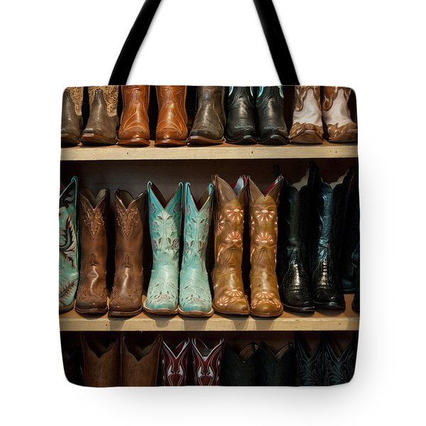 These Boots Were Made For Walking Tote Bag