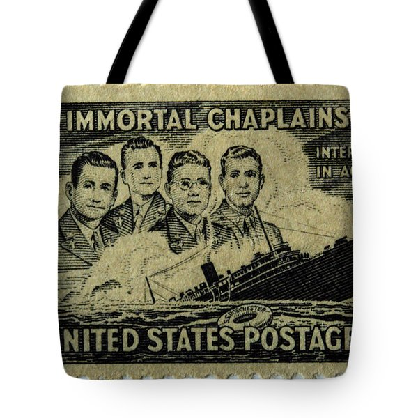 These Immortal Chaplains Tote Bag