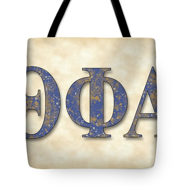 Theta Phi Alpha - Parchment Tote Bag by Stephen Younts