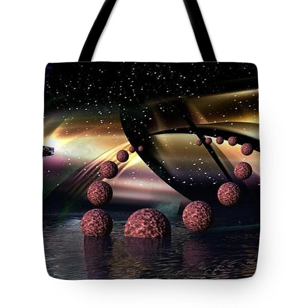 They Came From Outer Space Tote Bag
