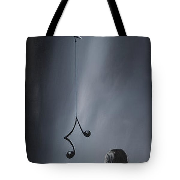 They Feel Your Love Song - Surreal Art By Shawna Erback Tote Bag