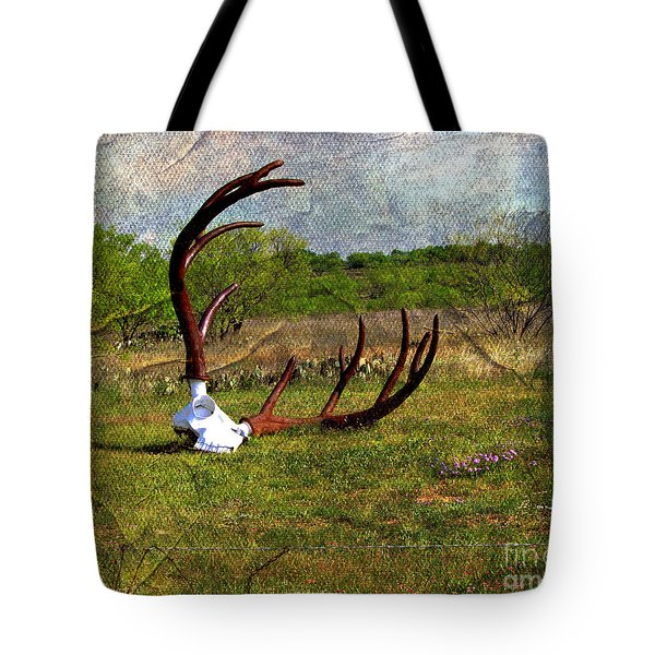 They Grow Them Big In Texas Tote Bag by Linda Cox