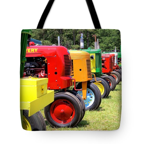 They're At The Gate Tote Bag by Gordon Elwell