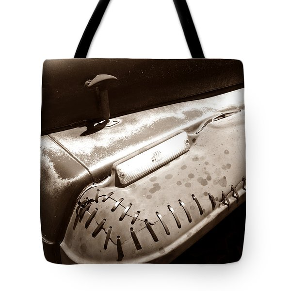 Thick Skin Tote Bag by Luke Moore