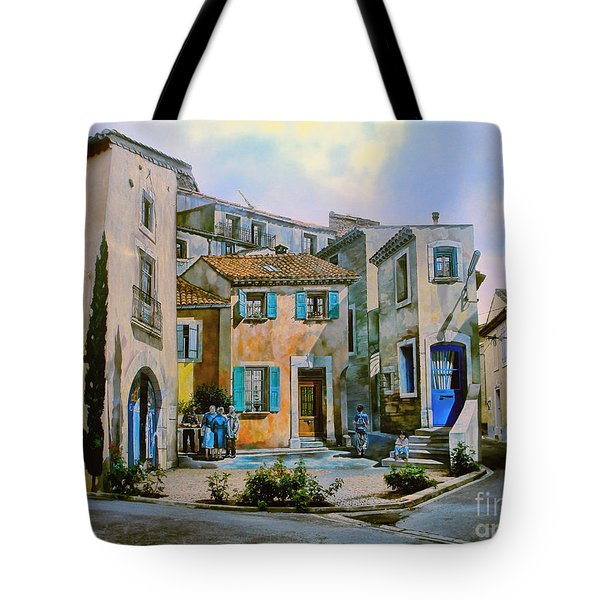 Tote Bag featuring the photograph Things Are Not As They Seem by Menega Sabidussi