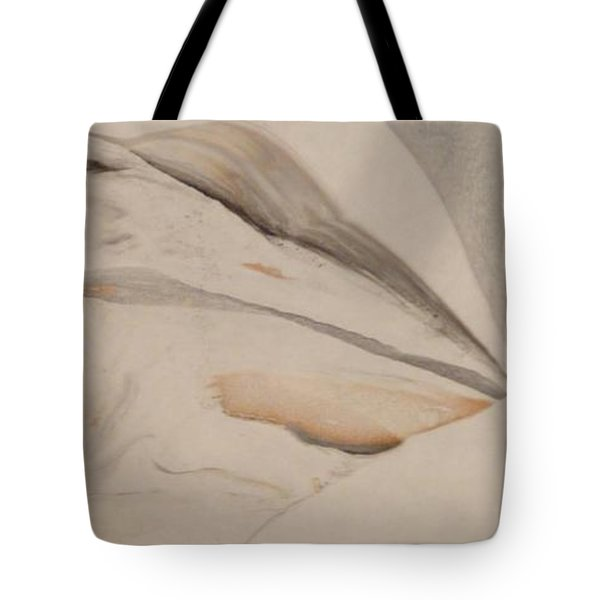 Tote Bag featuring the painting Thinker by Mike Breau
