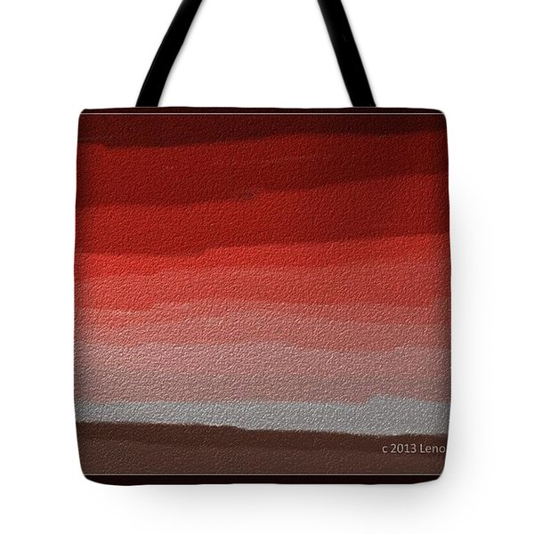 Thinking Inside The Box Tote Bag by Lenore Senior