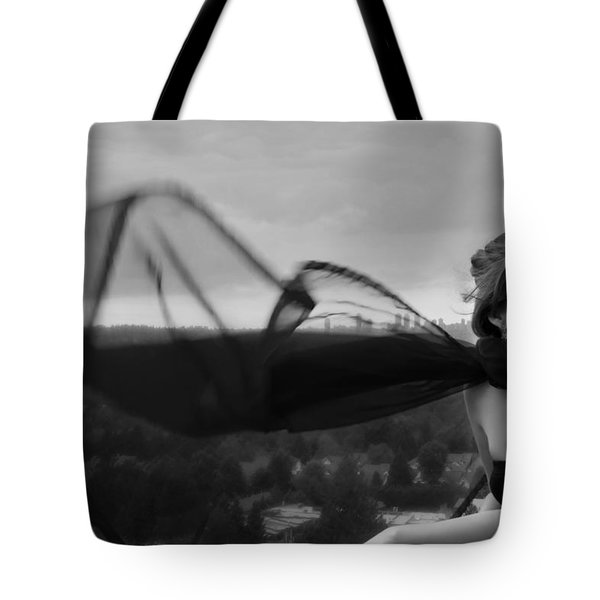 Thinking Of You Tote Bag by Lisa Knechtel