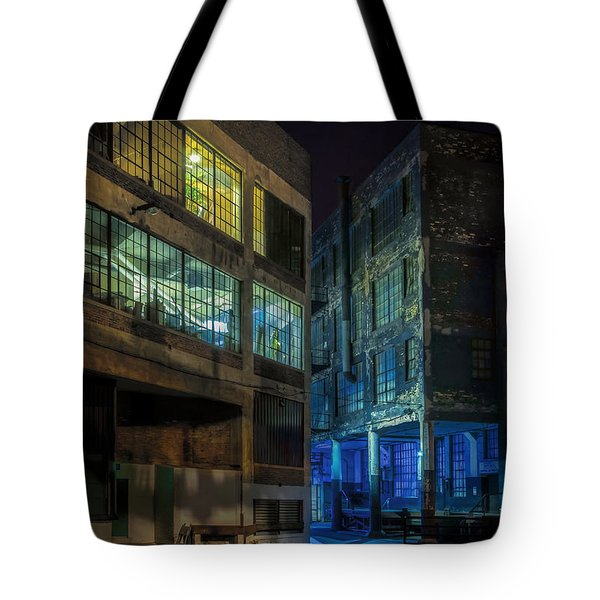 Third Ward Alley Tote Bag