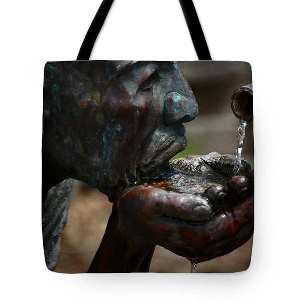 Tote Bag featuring the photograph Thirst Quencher by Leticia Latocki