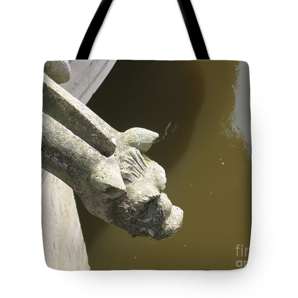 Thirsty Gargoyle Tote Bag by HEVi FineArt