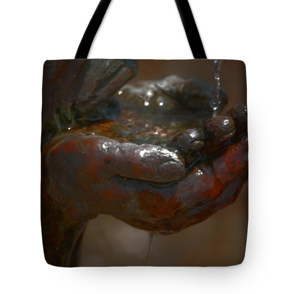 Tote Bag featuring the photograph Thirsty by Leticia Latocki