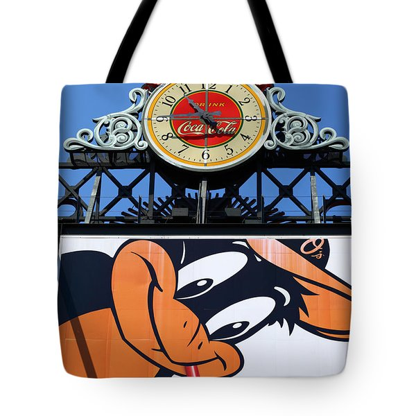 Thirsty Oriole Tote Bag