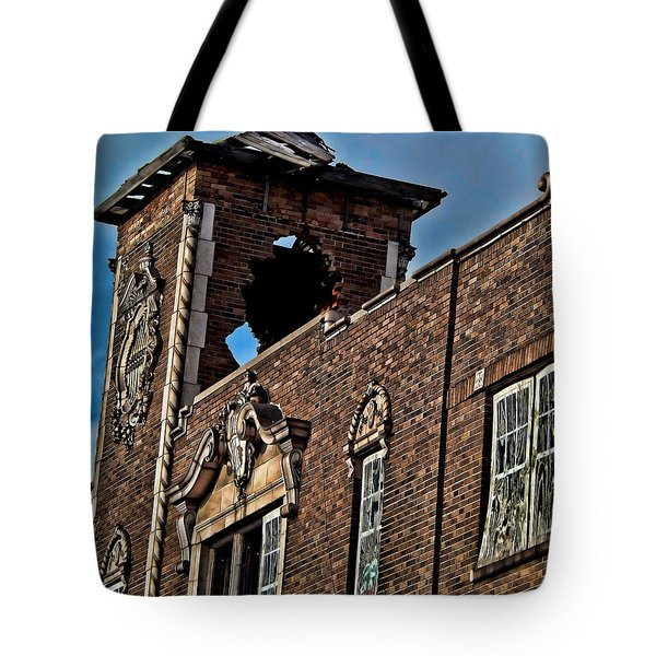 This Building Is History Tote Bag by Kristie  Bonnewell