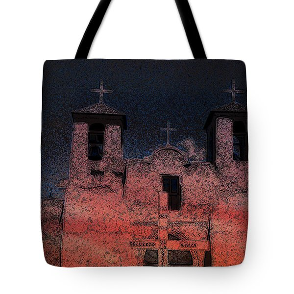 Tote Bag featuring the digital art This  by Cathy Anderson