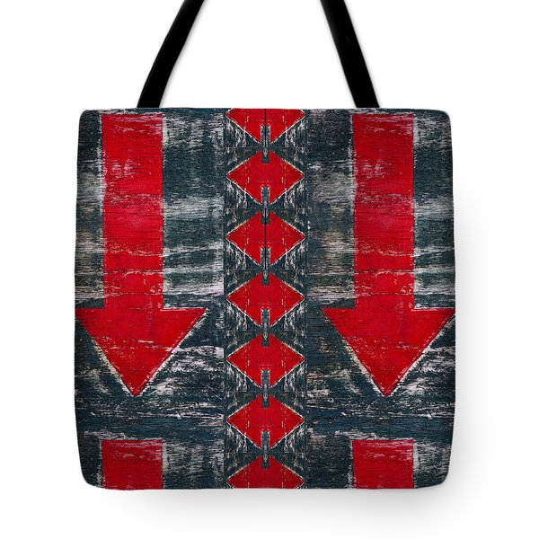 This End Up Tote Bag by Carol Leigh