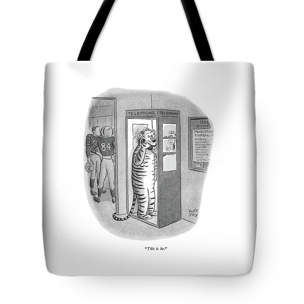 This Is He Tote Bag
