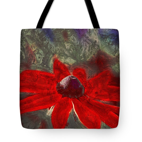 This Is Not Just Another Flower - Spr01 Tote Bag by Variance Collections