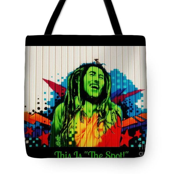 This Is The Spot Tote Bag
