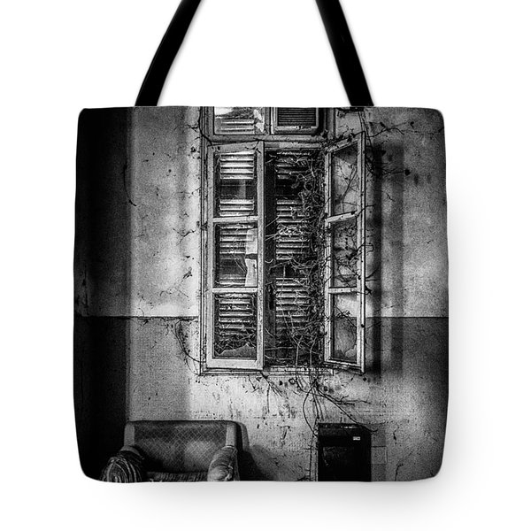 This Is The Way Step Inside II Tote Bag by Traven Milovich