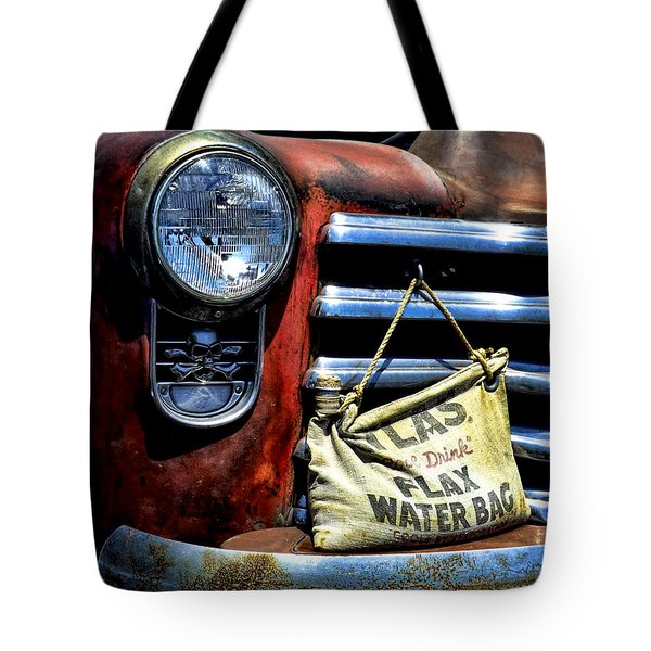 This Ol' Chevy Tote Bag by Kristie  Bonnewell
