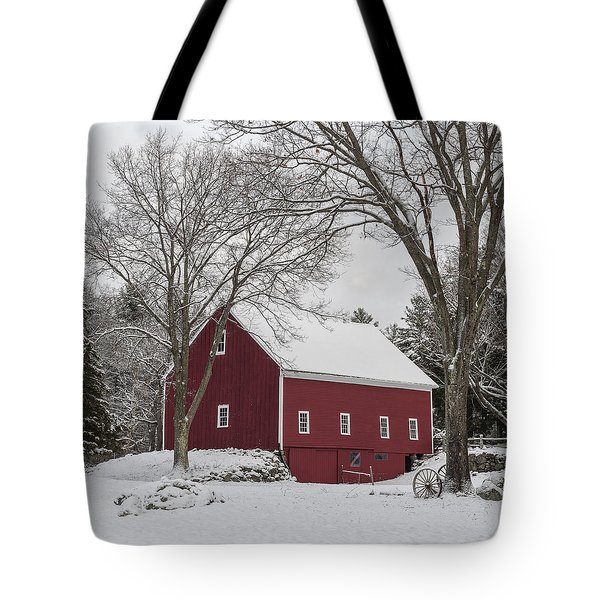 This Old Barn Tote Bag by Jean-Pierre Ducondi