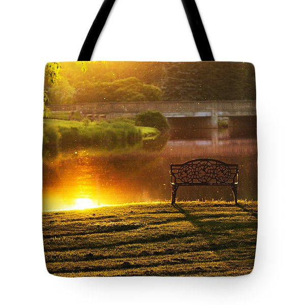 This Old Bridge Tote Bag