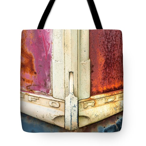 Tote Bag featuring the photograph This Old Ford by Bernd Laeschke