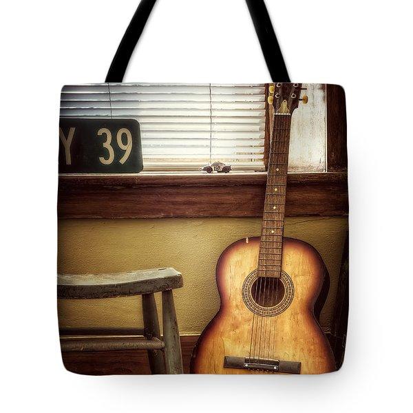 This Old Guitar Tote Bag