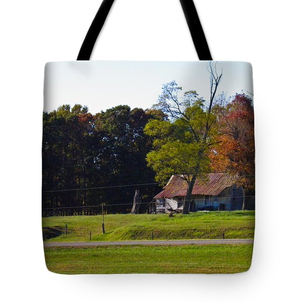 Tote Bag featuring the photograph This Old House by Nick Kirby