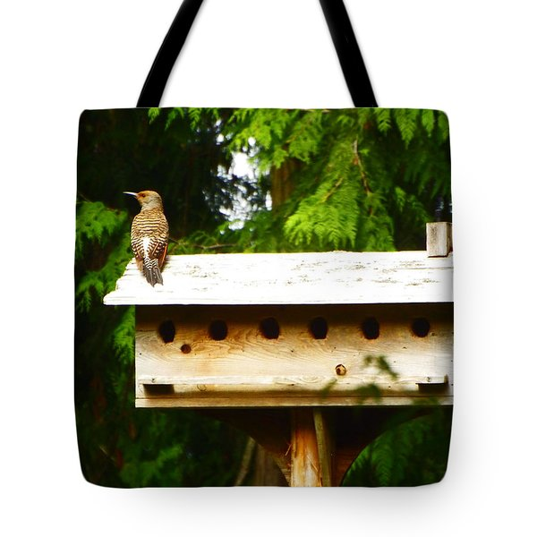 This Place Is Too Crowded Tote Bag by Kym Backland