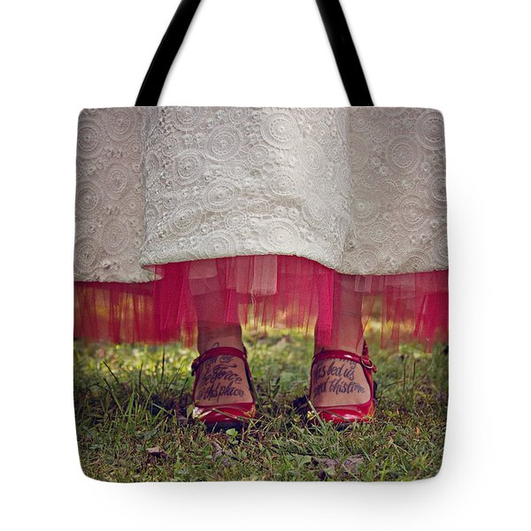 This Place This Time Tote Bag