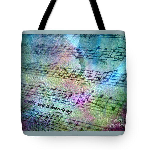 This Song's For You Tote Bag by Irma BACKELANT GALLERIES