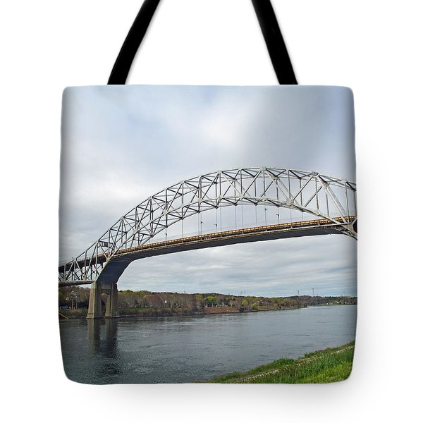This Way To The Cape Tote Bag by Barbara McDevitt