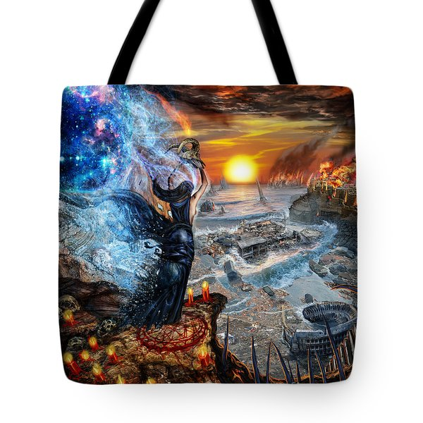 This Will All Come To An End Tote Bag