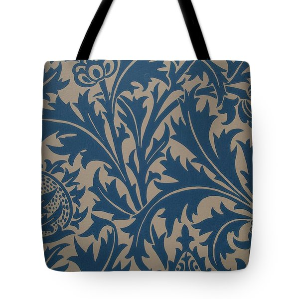 Thistle Design Tote Bag by William Morris