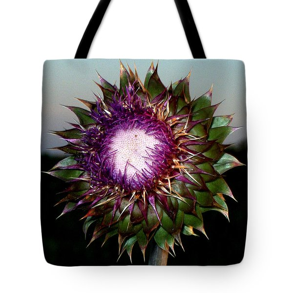 Thistle Night Tote Bag