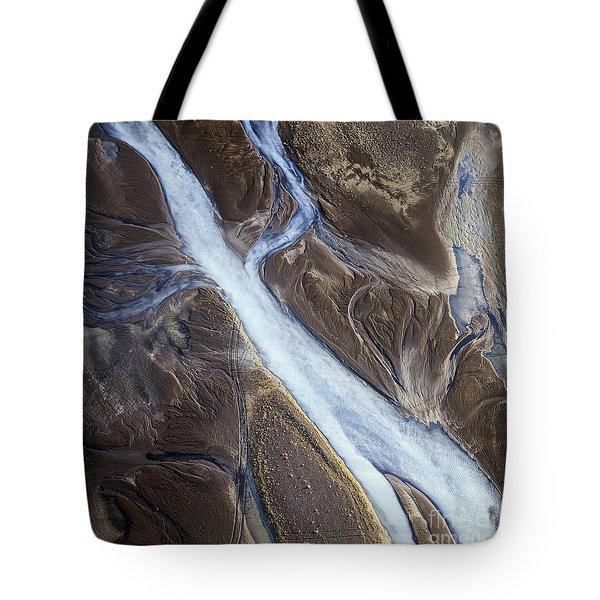 Tote Bag featuring the photograph Thjosa by Gunnar Orn Arnason